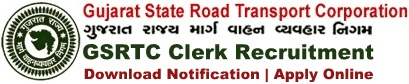 GSRTC Clerk Recruitment Notification & Application Form