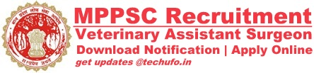MPPSC Veterinary Assistant Surgeon Recruitment Notification & Application Form