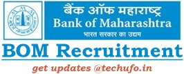 Bank of Maharashtra Recruitment Notification Online Application Form