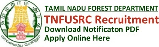 TNFUSRC Recruitment Notification & Online Application Form