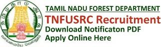 TNFUSRC Recruitment Notification & Online Application Form
