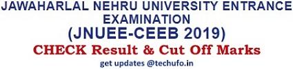 JNUEE Result Cut Off Marks Merit List