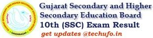 gipl.net GSEB 10th SSC Exam Result