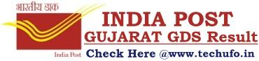 Gujarat Postal Circle GDS Result Merit List Cutoffs