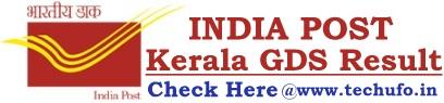 Kerala Postal GDS Result Merit List Cutoffs
