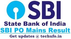 SBI PO Mains Result State Bank Of India Probationary Officer Main Exam Cutoff Marks Merit List
