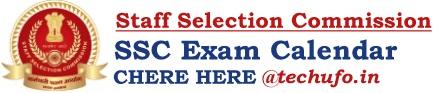 SSC Exam Calendar Upcoming SSC Exam Dates, Notification & Schedule