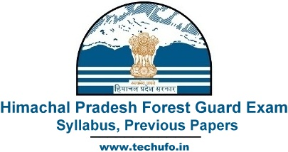 HP Forest Guard Syllabus Himachal Pradesh Vanrakshak Exam Pattern Previous Papers PDFs
