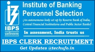 IBPS CRP X Clerk Recruitment Notification Clerical cadre Posts Online Application Form