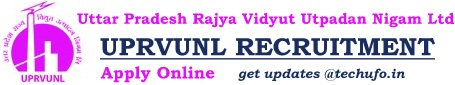 UPRVUNL Recruitment Notification