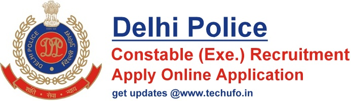 Delhi Police Constable Recruitment Notification SSC DP Bharti Apply Online Application Form