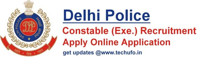 Delhi Police Constable Recruitment Notification SSC DP Bharti Apply Online Application Form