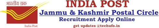 Jammu Kashmir Postal Recruitment Notification JK Post Office Application Online Form
