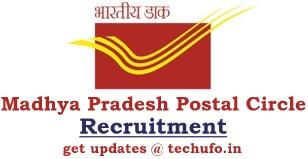 MP Post Office Recruitment Notification Madhya Pradesh Postal Circle GDS Online Application Form