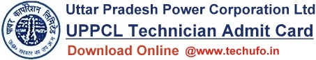 UPPCL Technician Admit Card Download UP Power Electrical Exam Call Letter
