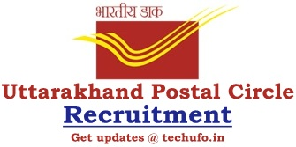 Uttarakhand Postal Circle Recruitment Notification GDS Online Application Form