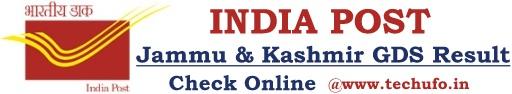JK Post GDS Result Jammu Kashmir Postal Gramin Dak Sevak Merit List