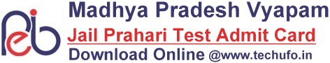 MP Vyapam Jail Prahari Admit Card Download MPPEB Call Letter