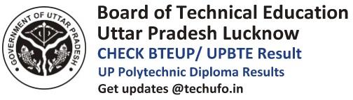 BTEUP Result UPBTE Polytechnic Diploma Odd Even Sem Results