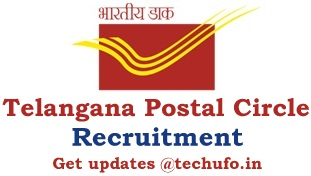 Telangana Postal Circle Recruitment Notification TS Post Office Online Application Form