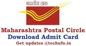 Maharashtra Postal Circle Admit Card Download DOPMAH Postman Mail Guard MTS Exam Date