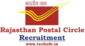 Rajasthan Post Office Recruitment Postal Circle GDS Notification Online Application Form Apply Online