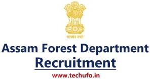 Assam Forest Department Recruitment Notification Forest Guard Forester Driver Online Application Form Apply