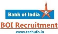 Bank of India Recruitment BOI Notification Apply Online Application Form