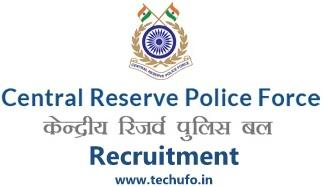 CRPF Recruitment Constable Notification Apply Online Application Form