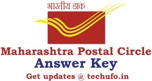 Maharashtra Postal Circle Answer Key Download DOPMAH Postman Mail Guard MTS Paper Solution PDF