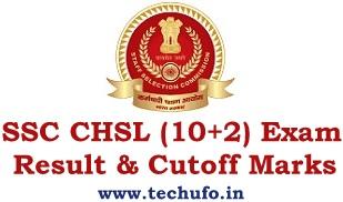 SSC CHSL Result LDC DEO PA SA 10+2 Cutoff Marks Merit List