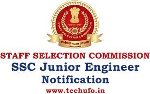 SSC JE Recruitment Junior Engineer Notification Apply Online Application Form