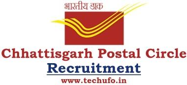 Chhattisgarh Postal Circle Recruitment GDS Notification CG Post Office Online Application Form Apply