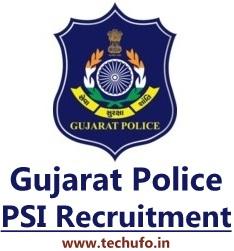 Gujarat Police PSI Bharti Recruitment ASI Intelligence Officer Posts Notification Apply Online Application Form