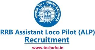 RRB ALP Recruitment Notification Railway Assistant Loco Pilot & Technician Online Application Form Apply