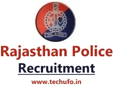 Rajasthan Police Recruitment Constable Bharti Notification Apply Online Application Form