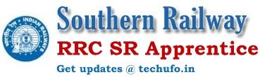 Southern Railway Apprentice Recruitment Notification RRC SR Apply Online Application Form