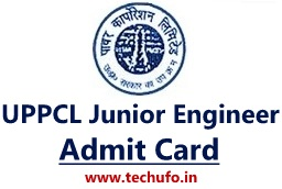 UPPCL JE Admit Card Download Uttar Pradesh Energy Junior Engineer Exam Date